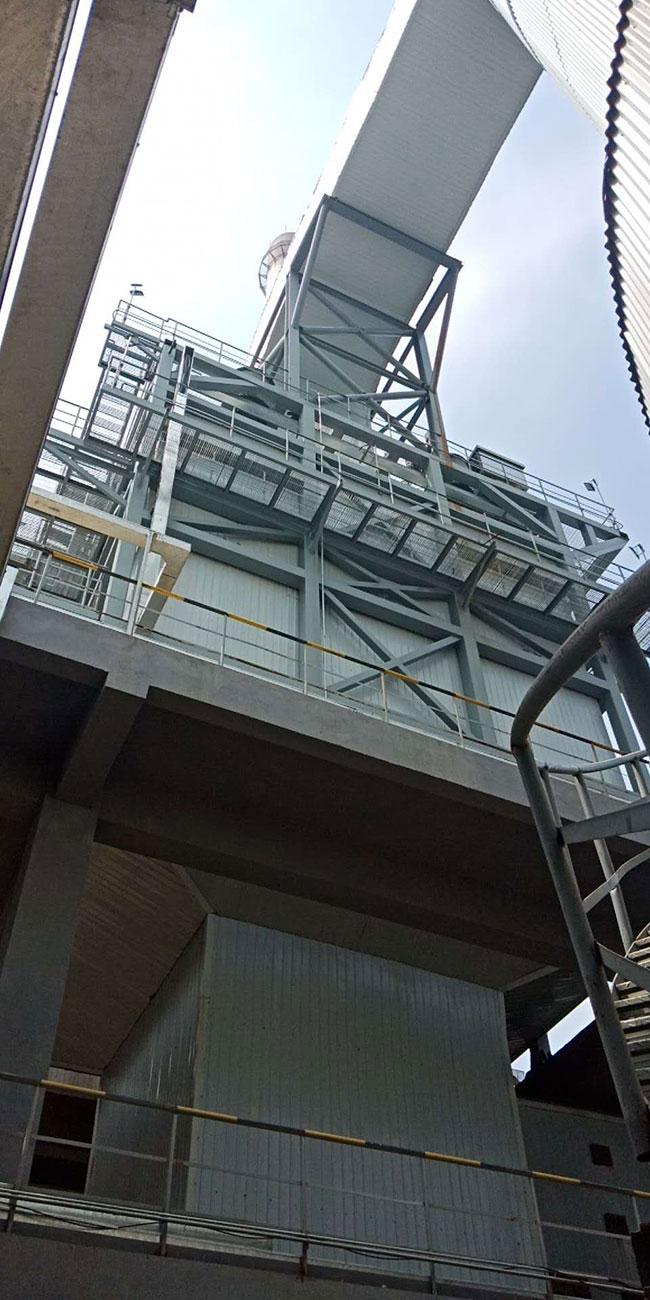 山东盛和热能湿式电除尘工程