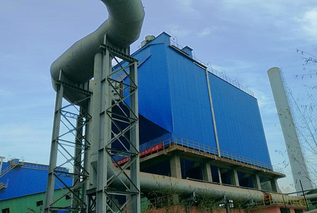 济南东新热源厂布袋除尘器