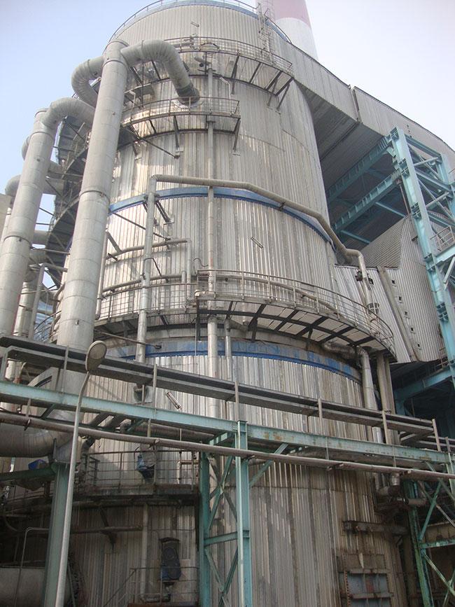 山东广富集团自备电厂脱硫工